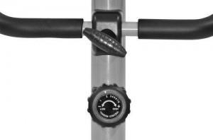 Christopeit AL 1 Fitnessbike Ergometer