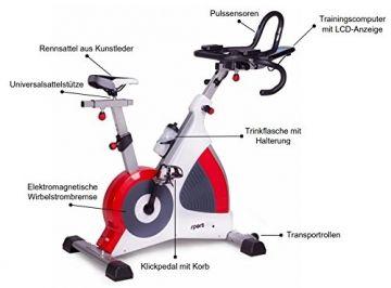 SportPlus SP-SRP-3000 Fitnessbike Ergometer